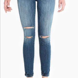 SIWY Lauren High Mid-Rise Skinny Denim Jeans